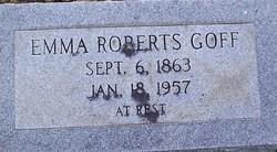 Emma <i>Roberts</i> Goff