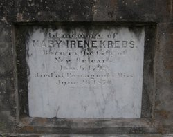 Mary Irene <i>Bermuchand</i> Krebs