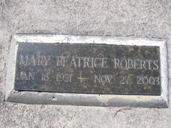 Mary Beatrice Roberts