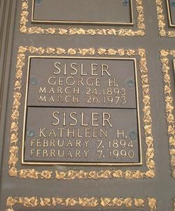 George Sisler