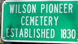 Wilson Pioneer Cemetery