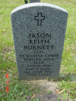 LCpl Jason Keith Burnett