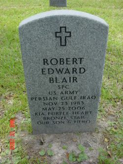 Spec Robert Edward Blair