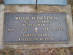 Willie H Pietzsch, Jr