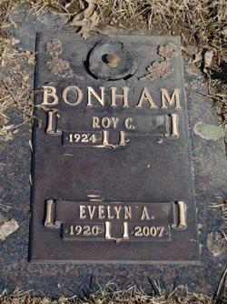 Evelyn A. <i>Bucy</i> Bonham