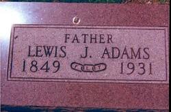 Lewis James Adams