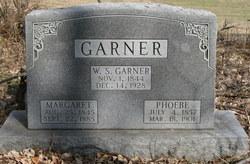 Phoebe <i>Tompkins</i> Garner