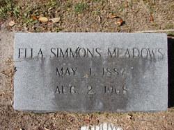 Ella McLendel <i>Simmons</i> Meadows