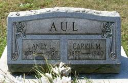 Mary Caroline Carrie <i>Van Horn</i> Aul
