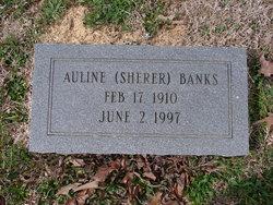 Auline <i>Sherer</i> Banks