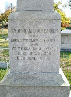Sydenham Benoni Alexander
