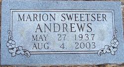 Marion Velda <i>Sweetser</i> Andrews