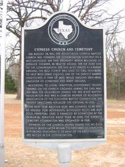 Cypress Cemetery