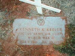Kenneth K Keeler