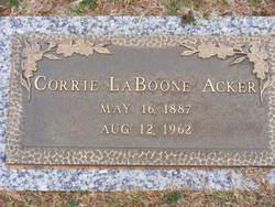 Corrie <i>Laboone</i> Acker