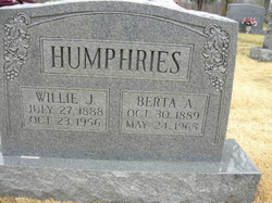 Berta A Humphries