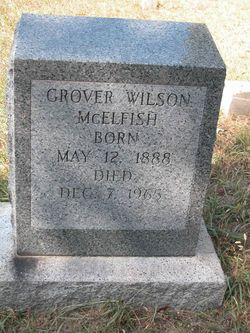 Grover Wilson McElfish