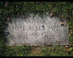 Rose <i>Alles</i> Pape