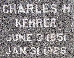 Charles H Kehrer