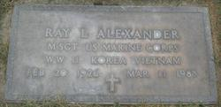 Ray Littleton Alexander