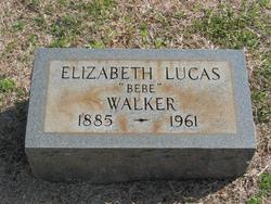 Elizabeth Bebe <i>Lucas</i> Walker