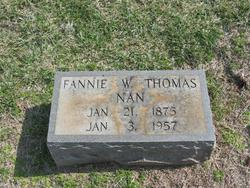 Fannie Nan <i>Walker</i> Thomas