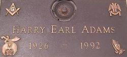 Harry Earl Adams
