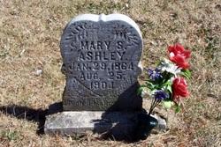 Mary Susan <i>Harrell</i> Ashley