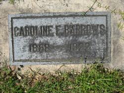 Caroline E Barrows