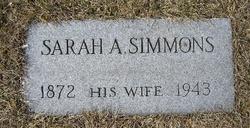 Sarah Amelia Sally <i>Simmons</i> VanHorn