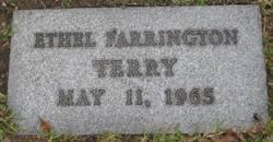 Ethel <i>Farrington</i> Terry
