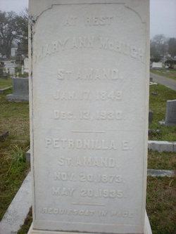 Mary Ann <i>McHugh</i> St. Amand