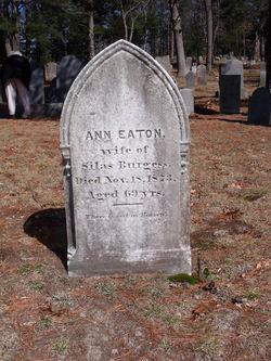 Ann <i>Eaton</i> Burgess