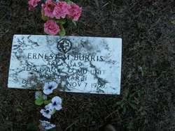 Ernest McCauley Burris