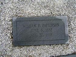 William P Patterson