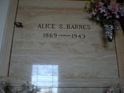 Alice S Barnes