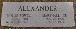 Mollie <i>Powell</i> Alexander