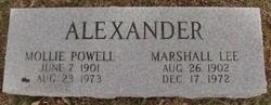Marshall Lee Alexander