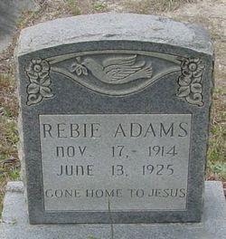 Rebie Adams