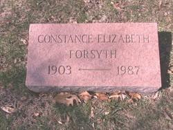Constance Elizabeth Forsyth