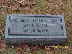 Nancy Theodocia <i>Latham</i> Norwood