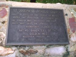 Saint Josephs Catholic Church Cemetery