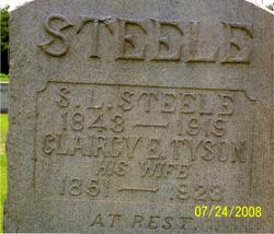 Clarrisse Elizabeth <i>Tyson</i> Steele