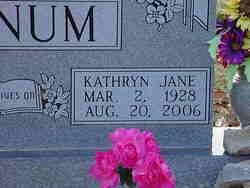 Kathryn Jane <i>Harling</i> Keenum