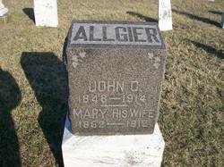 Mary <i>Plank</i> Allgier