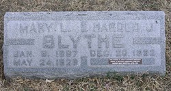 Mary L. <i>Shefstall</i> Blythe