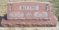 Martha Jane Jane <i>Goudelock</i> Blythe