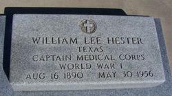 Dr William Lee Hester