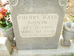 Cherry <i>Bass</i> Bonin