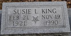 Susie L <i>King</i> Amick